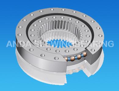 Single Row Ball bearing Internal Gear